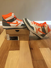 Mens Nike Sky Force 88 Mid Orange white and grey size 10
