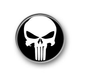 THE-PUNISHER-1-25mm-pin-button-badge-Marvel-Spiderman-Stan-Lee