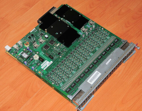 Cisco WS-X6148A-45AF 48 Ports 10//100//1000 Line Card 6MthWtyTaxInv