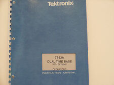Tektronix 7B92A  Dual Time Base With Options Instruction Manual