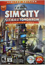 SIMCITY, Cities of Tomorrow Expansion Pack, Limited Edition, PC/MAC,
