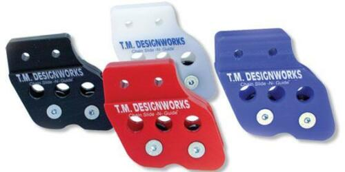 TM Designworks Rear Chain Guide Dual Rollers Warrior Yellow 99 00 01