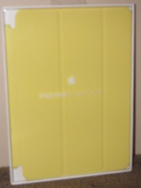 GENUINE APPLE iPAD MINI SMART COVER - YELLOW