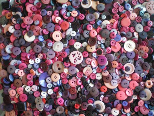 50g 100g Mixed Buttons Quality Selection Assorted Craft Scrapbooking Card Making