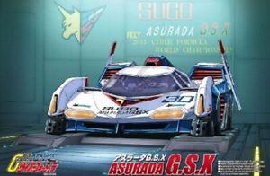 Anime V AOS15407 Aoshima  1//24 2015 Cyber Formula #30 Sugo Asurado GSX Race Car