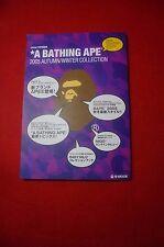 A BATHING APE NIGO 2005 MOOK CATALOG BAPE  shark pin badges Book japan