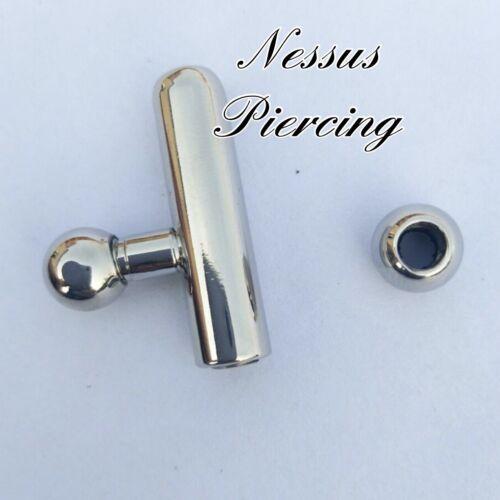 30mm shortened princes wand urethral sound piercing bondage stretching 3mm-10mm