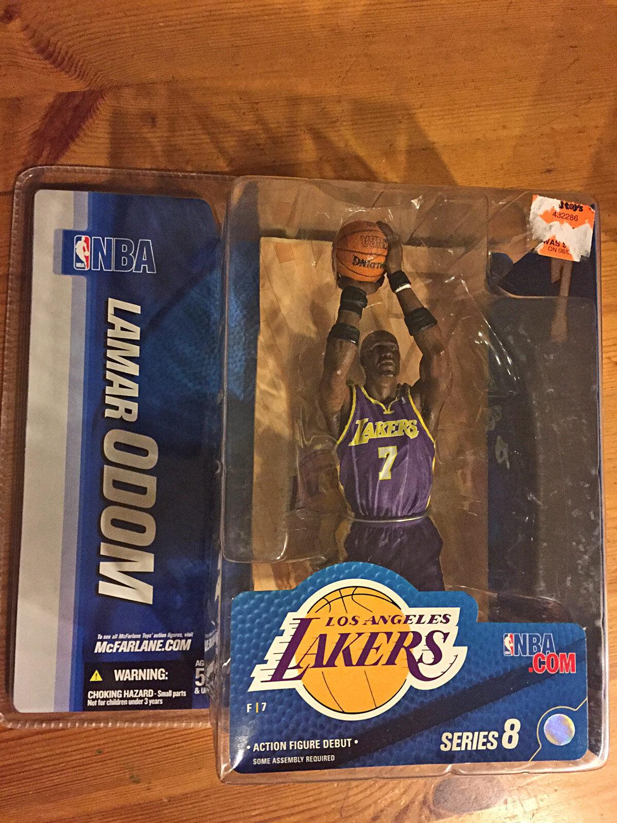 Giocatore di basket NBA Lamar Odom Los Angeles Lakers azione cifra McFarlane 2005