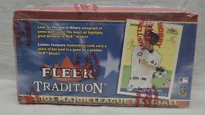 2002-Fleer-Tradition-Baseball-Hobby-Box-36-Packs-Factory-Sealed