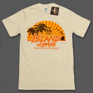 603cf7b58 Island Hoppers Magnum PI Inspired Mens T-Shirt Tee 80's Tom Selleck ...
