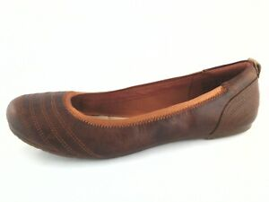 Image is loading Timberland-Earthkeeper-8939R-Womens-Ellsworth -Flat-Shoes-Burt- 0966d4944c