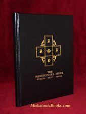 THE PHILOSOPHER'S STONE: A Facsimile Rosicrucian Alchemical Manuscript, LEATHER