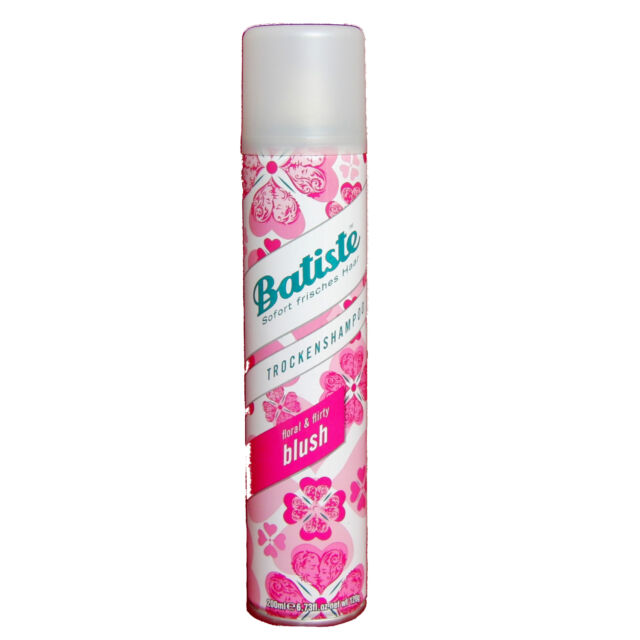 (27,50 €/L ) 200ml Batiste Shampooing Sec FLORAL & Flirty Blush frais cheveu