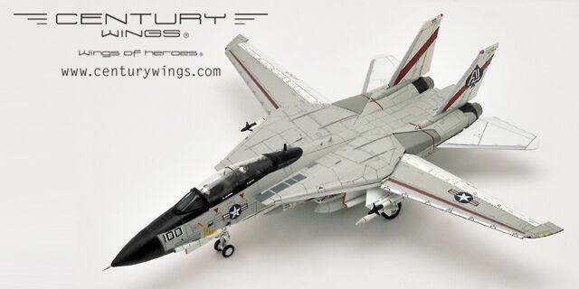 Century Wings CW001620 F-14A Tomcat U.s. Navy VF-41 Negro Aces AJ100 2018 reedición