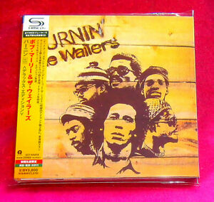 Bob-Marley-Burnin-039-SHM-MINI-LP-CD-2-X-CD-JAPAN-UICY-94587-88