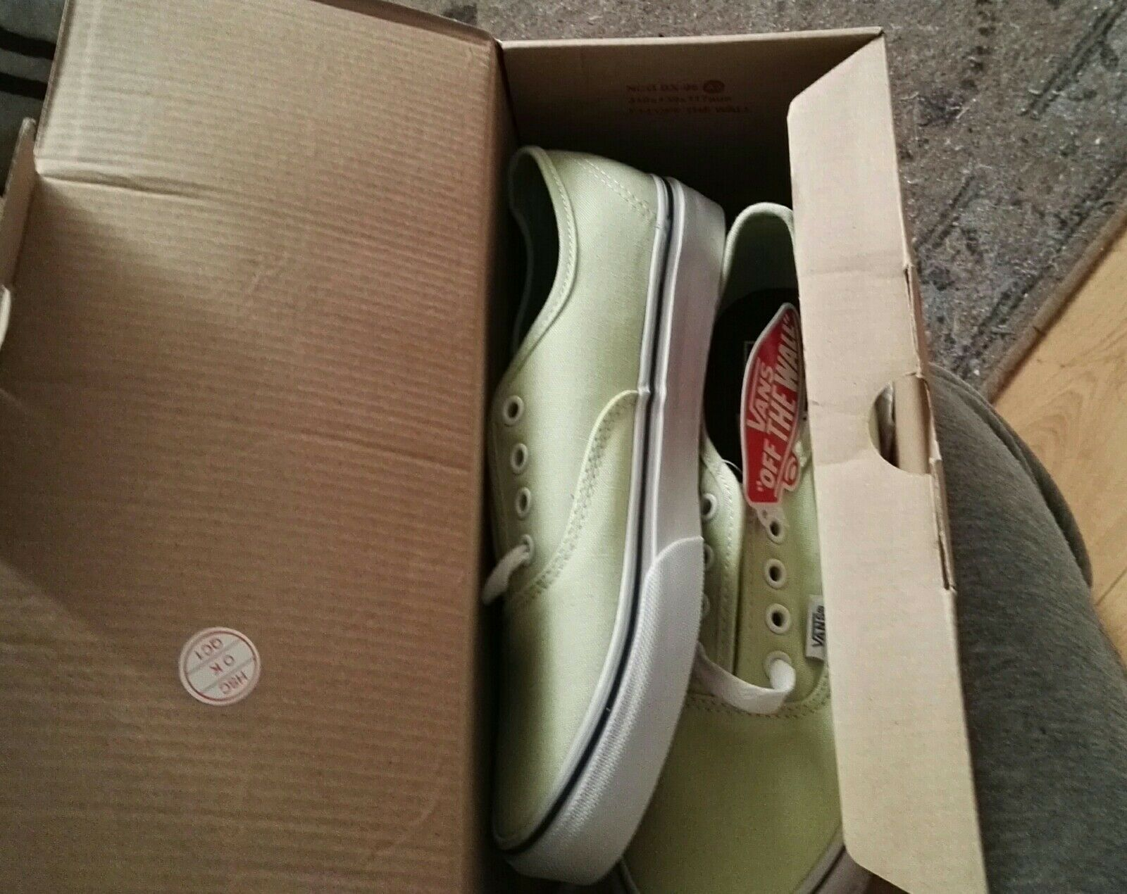 VANS AUTHENTIC Lime/Vrai Off The Wall skate Chaussures Shadow Lime/Vrai AUTHENTIC Blanc (Différentes Tailles) bc0448