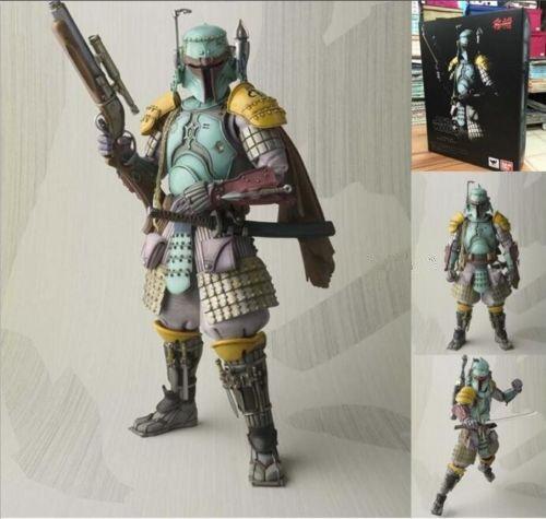 Star Wars Ronin Samurai Boba Fett Movie Realization PVC Action Figure Toy Gift