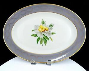 PRINCESS-CHINA-EMPCRAFT-USA-GOLDEN-PEONY-GOLD-LAUREL-15-1-4-034-OVAL-PLATTER