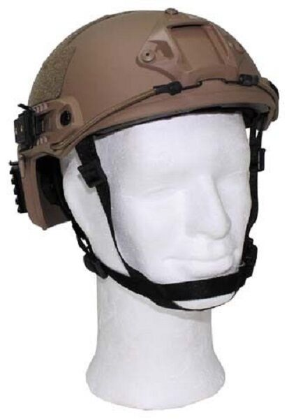 US MICH TC2001 Army Helmet Helmet Army Helm FAST with Rails coyote 67347c