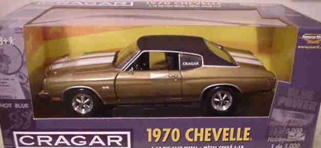 1970 Chevelle SS454 Autumn oro 1 18 Ertl American Muscle 32994