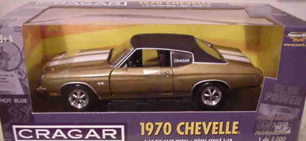 1970 chevelle ss454 herbst Gold 1,18 ertl amerikanische power 32994