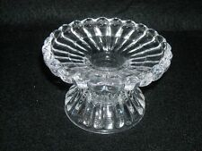 Item 1 Dual Purpose Glass Candle Holder, 7/8