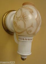 Vintage Sconces matched pair 1930s Lightolier wall lights