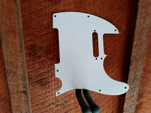 TELE TL Style Guitar Pickguard White Replacement 3 Ply