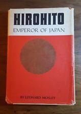 Hirohito,Emperor of Japan, Leonard Mosley,(1966), Prentice Hall,BMC