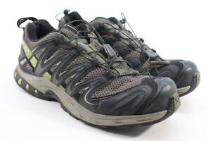Details about Salomon Men's XA Pro 3D SwampDark TitaniumGreen Shoe UK 8 EU 42 1132