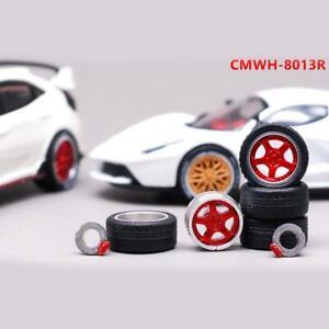1-64-rims-Pirelli-tires-mix-fit-Hot-Wheels-Tomica-diecast