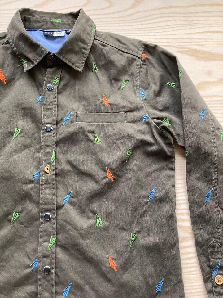 Skjorte, cowboy/denim skjorte, Molo