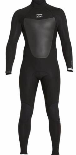 Billabong Men/'s Absolute Comp 4//3mm Back Zip Full Wetsuit New Black