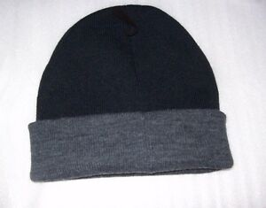 MENS-STAFFORD-ONE-SIZE-BEANIE-WINTER-HATS-BLACK-GREY-NEW-WITH-TAGS-MSRP-18