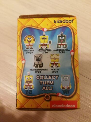 Kidrobot Many Faces of Spongebob Squarepants Mini Series Porous Pockets