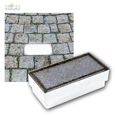 LED Pflasterstein-Leuchte 20x10 Boden-Einbauleuchte beleuchteter Pflaster-Stein