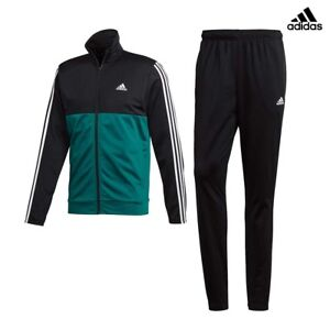 ADIDAS-BACK-2-BASICS-3STRIPES-TRACKSUIT-CHANDAL-CLIMALITE-ORIGINAL-CY2303-VERDE