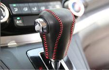 Car Genuine Leather Red Shift Wire Knob Gear For Honda CRV CR-V 2015 2016