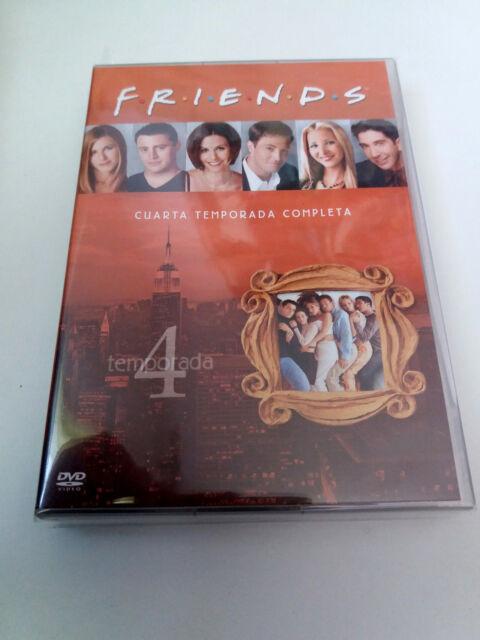 "DVD ""FRIENDS CUARTA 4 TEMPORADA COMPLETA"" 4DVD JENNIFER ANISTON COURTNEY COX"