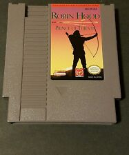 ROBIN HOOD PRINCE OF THIEVES Nintendo NES Game cleaned and tested.  See pics