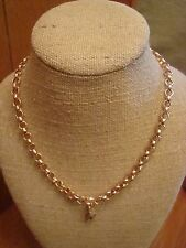 """Authentic Origami Owl 18-20"""" Rose Gold Thick Rolo Chain  """"New"""" >"""