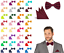 Fliege-Einstecktuch-SET-hochwertig-Hochzeit-Busniess-Herren-Binder-Schleife Indexbild 1