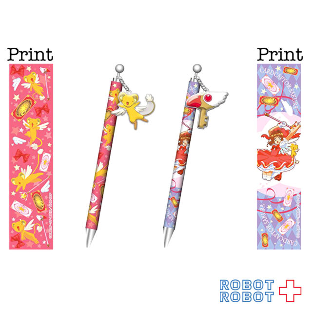 Card Captor Sakura Ball-point pen Sakura Kinomoto & Cerberus 2 pcs set Kero-chan