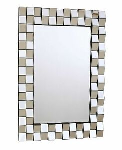 Exclusive Modern Contemporary Decor Living Room Bedroom Wall Mirrors Uk Seller Ebay