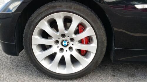 NEW YELLOW Brake Caliper Covers Kit Black //////M Logo Front Rear 4x M+S fits BMW