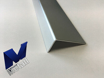 1,25m Aluminium Angle L-Profile ungleichschenklig L = 1250mm Blank exterior wrapped