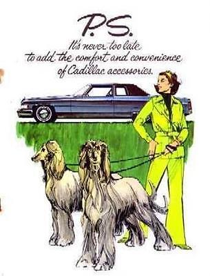 1970-1975 1973 1974 Cadillac Accessories Sales Brochure Literature Dealer Ad