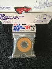 Tamiya MASKING TAPE 18 MM 18 M + HOLDER - MODELISME MODELBOUW MODELKIT