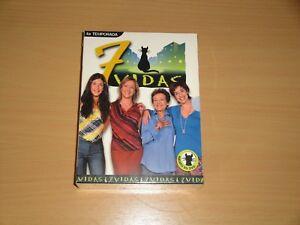 7-VIDAS-4-CUARTA-TEMPORADA-EN-DVD-SERIE-DE-TV-CON-6-DISCOS-Y-22-EPISODIOS-NUEVA
