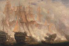 The Battle of Trafalgar John Christian Schetky Segelschiffe Schlacht B A3 02604